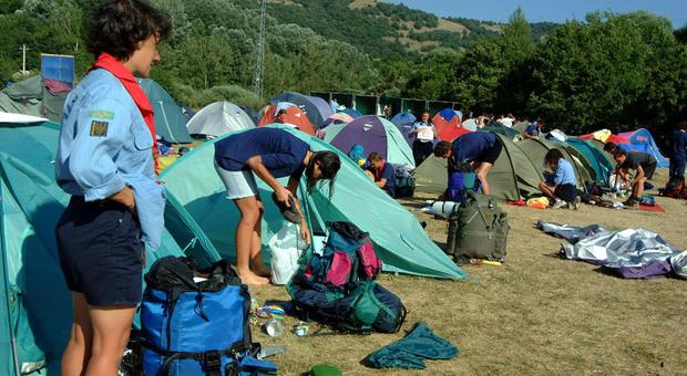 Campo scout, foto di repertorio