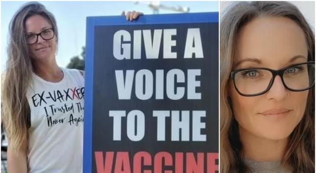 Mamma no-vax: «Non porto la museruola, sono libera pensatrice». Ma si contagia e muore a 40 anni, lascia 4 figli