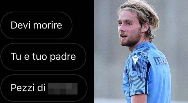 Lazio, il figlio del ds Tare insultato sui social per il mercato: «Dovete morire»