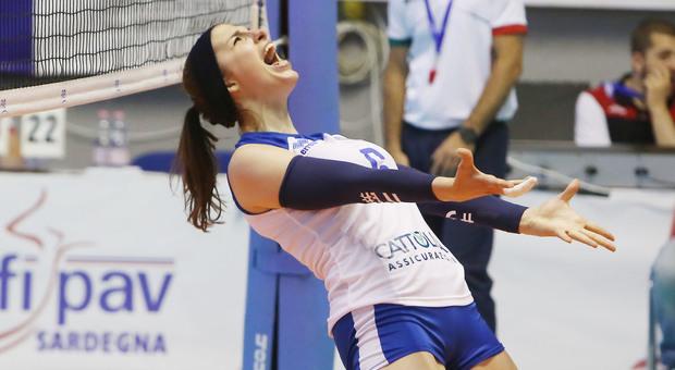 Le Azzurre hanno stracciato le pallavoliste della Russia, sono campionesse europee