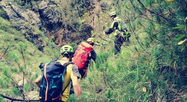 Le ricerche dell'escursionista