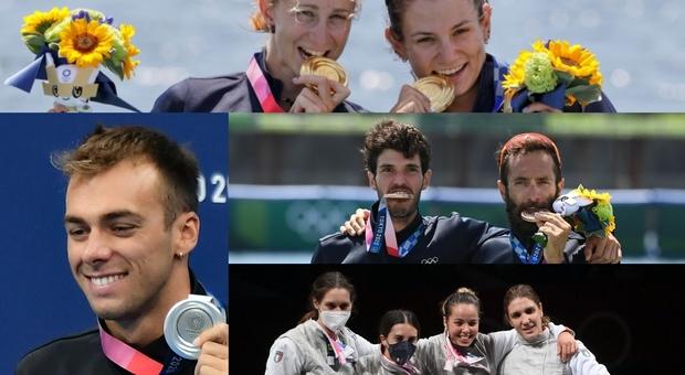 Le medaglie dell'Italia oggi a Tokyo: miracolo Paltrinieri, canottaggio donne storico oro (e anche bronzo), fioretto rivincita in finalina