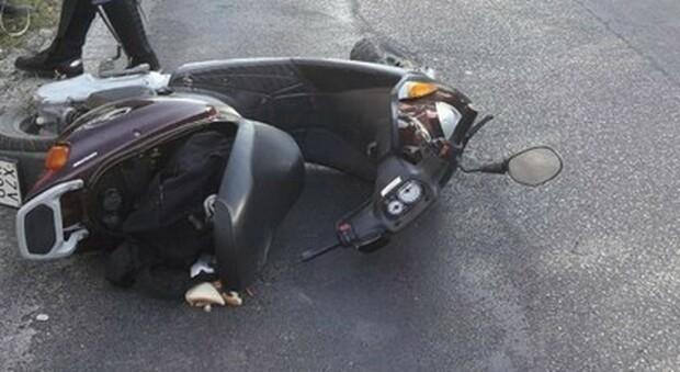 Incidente in motorino (foto di repertorio)