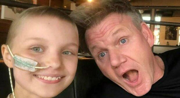 Sophie Fairall muore a 10 anni per un cancro, ma riesce a esaudire il suo ultimo desiderio: cucinare con lo chef Gordon Ramsay