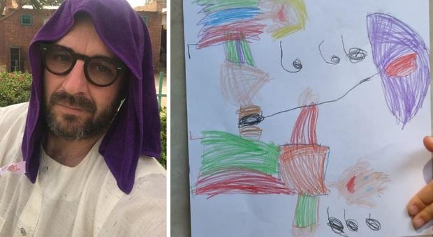 La figlia di Zennaro scrive al papà in Sudan
