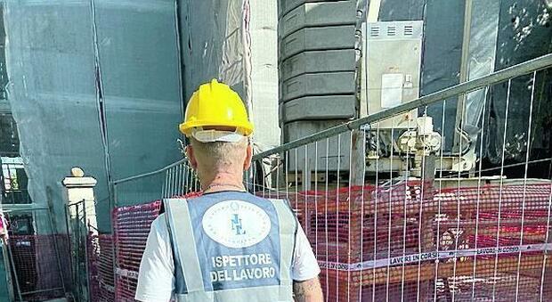 Superbonus, nuovo blitz nei cantieri: lavoratori in nero e rischio contagi