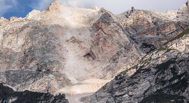 Dolomiti, il crollo sulla Croda Marcora