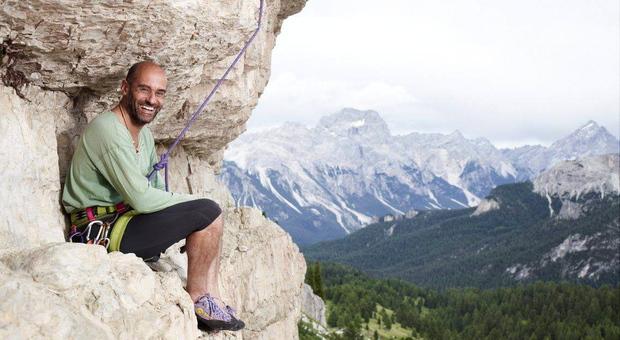 L'alpinista Marco Berti