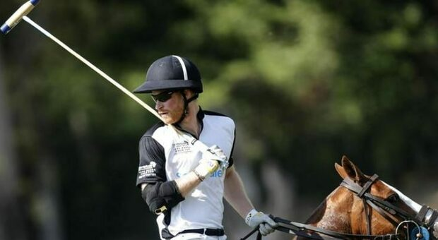 Harry gioca a polo