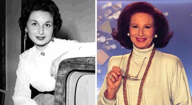"""Morta Nicoletta Orsomando, la signorina """"buonasera"""" della Rai si è spenta a 92 anni"""