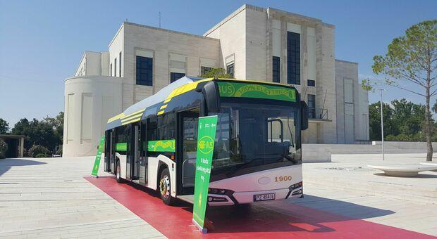 Bus elettrico al Lido, saranno così anche in terraferma