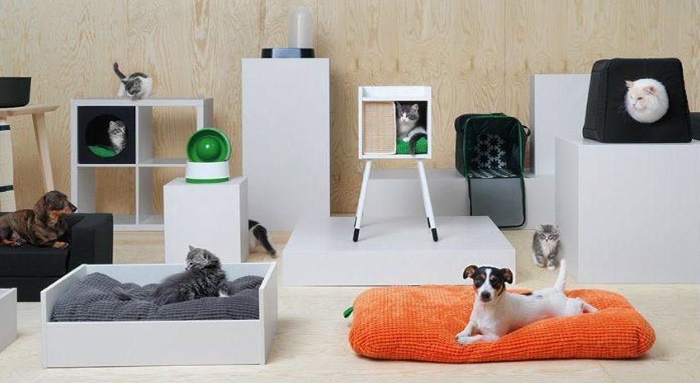 Cuscino Alla Francese Ikea.Ikea Punta Sugli Animai Domestici E Lancia Per Loro La Linea Pelosa