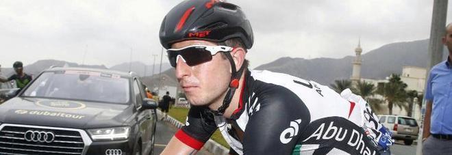 Il ciclista Modolo investito da pirata:  «In auto una escort che è fuggita»