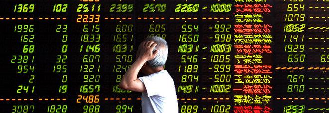 05a7909013 La Cina affossa le Borse mondiali: a Wall Street l'avvio peggiore da 84 anni