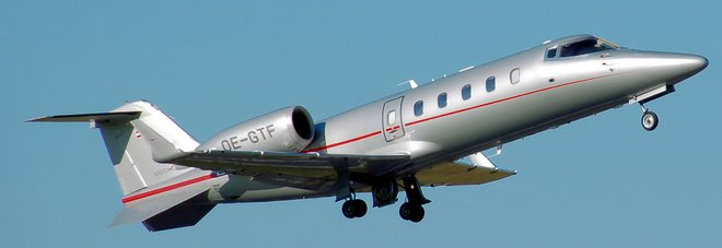 Un Learjet 60 Xr