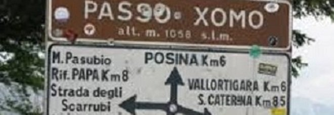 Ciclista precipita in un dirupo: è grave Salvate in quota altre due coppie di vicentini