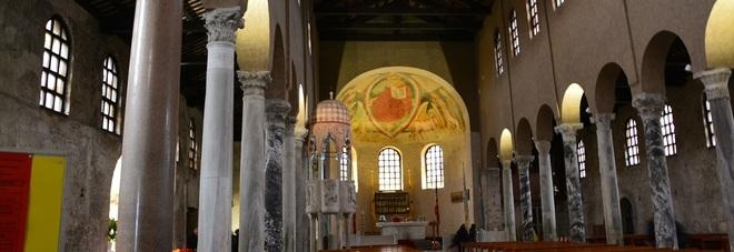 Cantieri aperti nella storia basilica di santa eufemia - Contro l umidita in casa ...