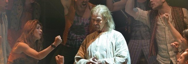 L'attore Ted Neeley nel musical