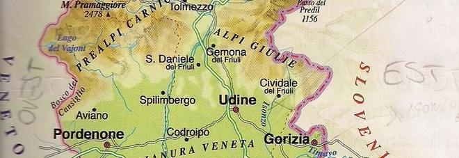 La Cartina Geografica Della Vergogna Piena Zeppa Di Errori Grossolani
