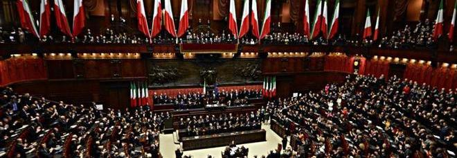 ... Repubblica Sergio Mattarella al Parlamento nel giorno del giuramento