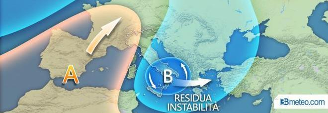 Le previsioni di 3Bmeteo.it