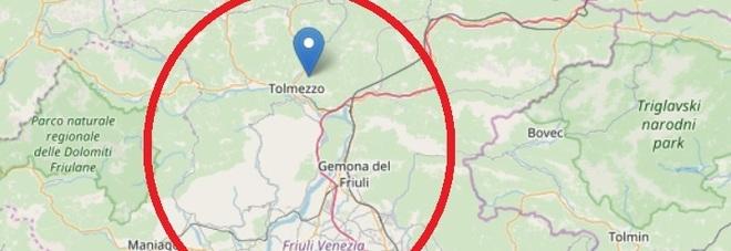 Terremoto di magnitudo 3.8 in Friuli  Scossa alle 18.39, epicentro a Tolmezzo  Paura anche a Sappada: gente in strada