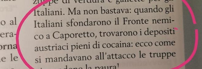 """Libri di storia """"capovolta"""": «Caporetto fu una vittoria dell'Esercito italiano»"""