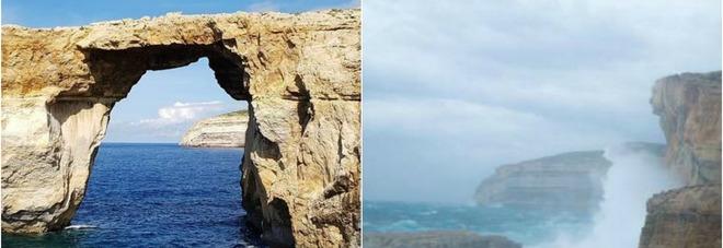 Crolla il simbolo di malta la finestra azzurra non c 39 pi - Malta finestra azzurra ...