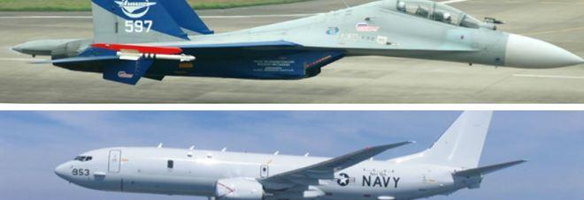 Aereo Da Combattimento Russo : Mar nero caccia russo intercetta aereo da ricognizione usa