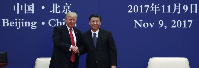 Trump in Cina: firmati accordi commerciali per 250 miliardi di dollari