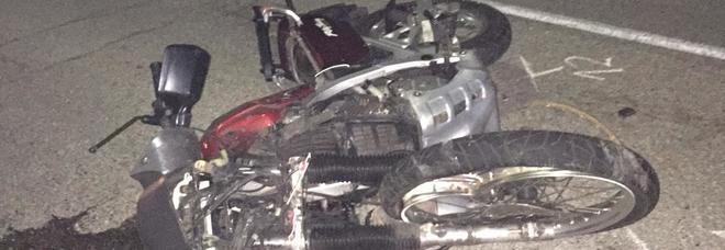 bf6b31c6ead Carambola fra una moto e due auto  morto sul colpo un pensionato
