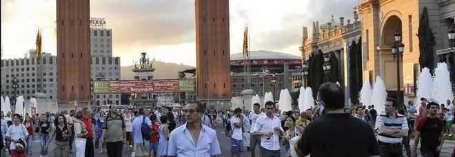 Barcellona paura sulla rambla un uomo apre il fuoco tra for Hotel sulla rambla a barcellona