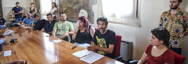 Il pedro conquista il comune conferenza stampa a for Pedro padova