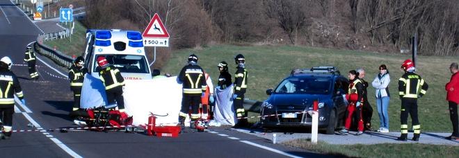 Travolto da un'auto lungo la Valsugana a Levico: per Franco Lazzaro,