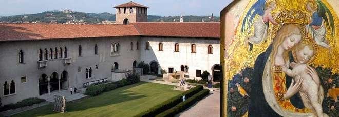 Museo Di Castelvecchio.Colpo Al Museo Trafugate 17 Tele Preziose Tra Cui Bellini E Rubens