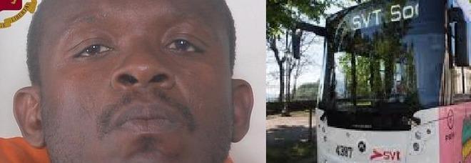 Tenta di violentare l`autista del bus, poi ferisce 78enne: arrestato clandestino.
