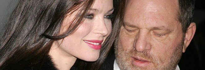 Harvey Weinstein con Georgina Chapman nel 2008. (Globe Photos/Sipa USA)