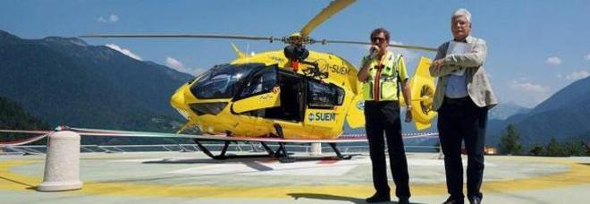Elicottero 118 Modello : Suem ecco il nuovo elicottero falco in grado di