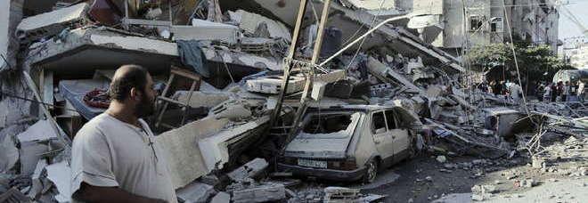 Gaza il bagno di sangue non si ferma nuovi raid altri 7 - Bagno di sangue ...