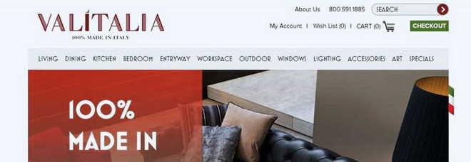 Vendere mobili negli usa il distretto tenta la via del web for Produttori mobili veneto