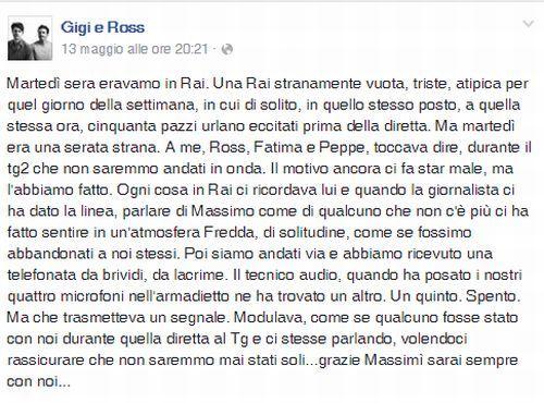Commozione a Made in Sud: il ricordo di Massimo Borrelli