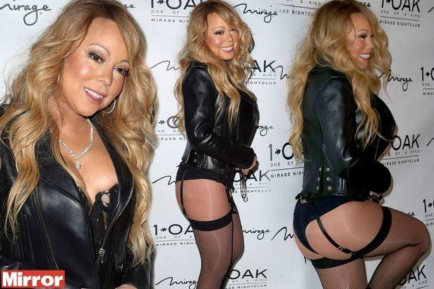 Mariah Carey più sexy che mai, lato B da urlo