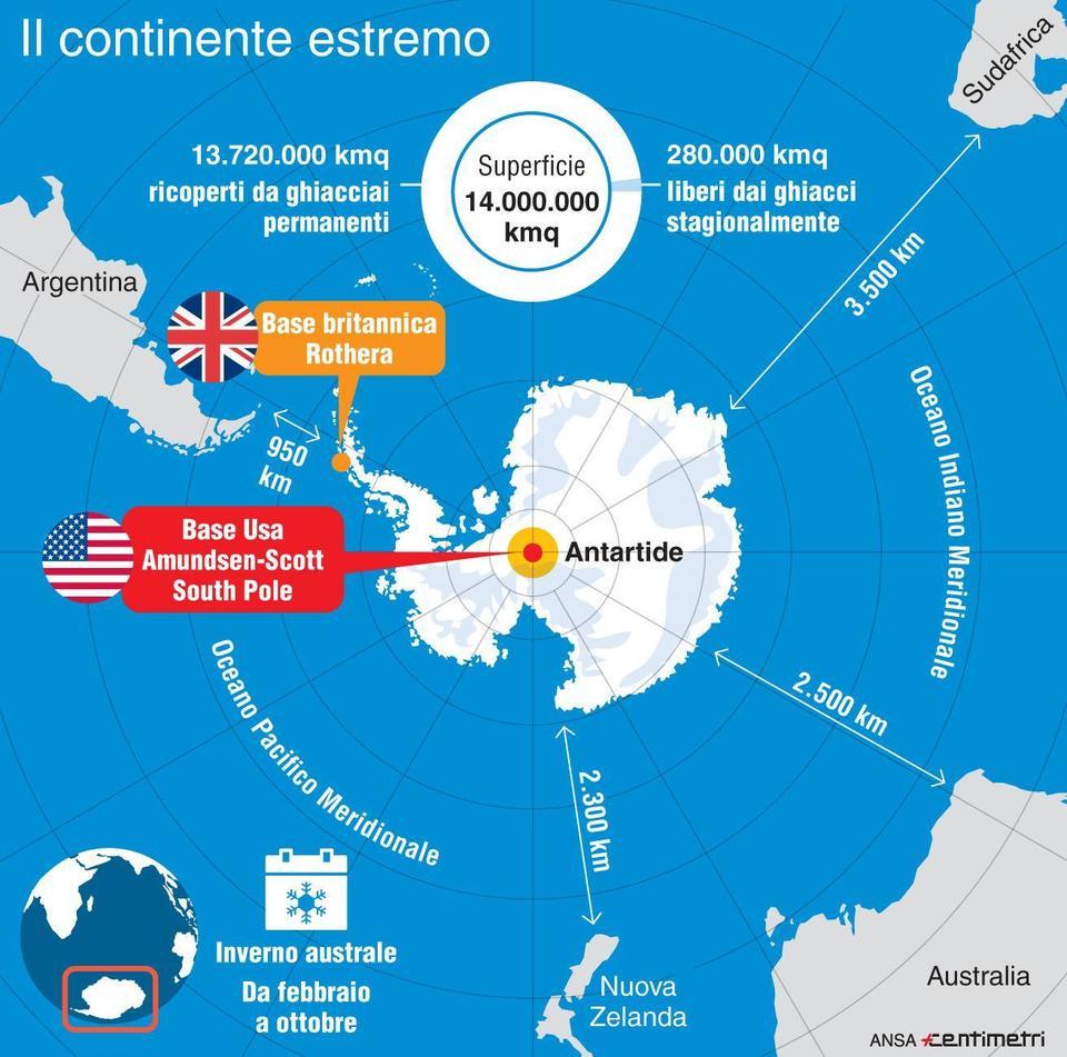 Antartide, aereo salvataggio è arrivato alla base Usa