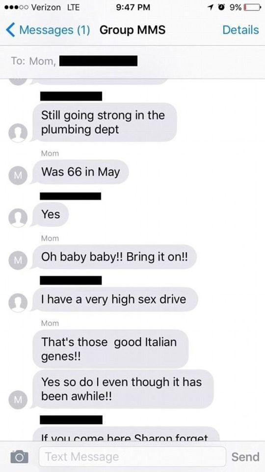 mamma e figlio sesso comico