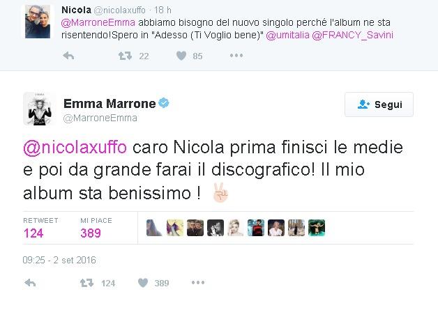 Emma Marrone e Fabio Borriello, ritorno di fiamma?