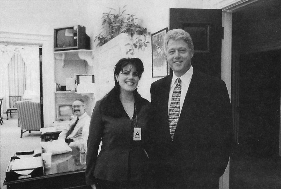 Monica Lewinsky racconta la sua storia con Clinton
