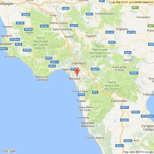 Scossa di terremoto tra Basilicata e Calabria