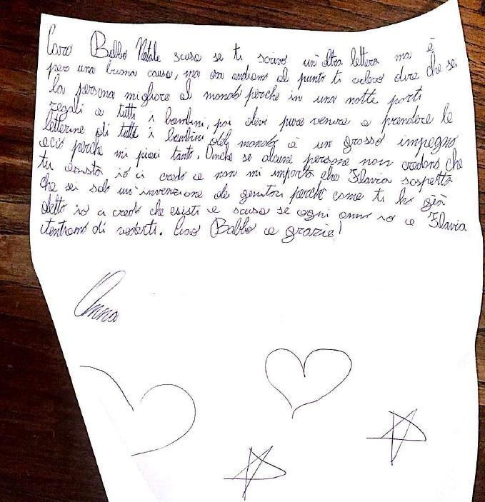 A 8 Anni Scrive Una Lettera A Babbo Natale Il Contenuto Commuove
