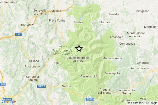 Terremoto centro Italia: avvertita nuova moderata scossa alle 11.26