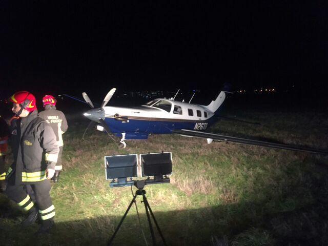 Incidente aereo a Linate, voli dirottati a Malpensa